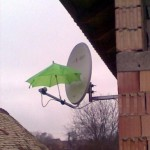 Satellite go out in the rain? I can fix that!