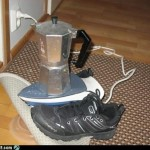 Electric stove broken & can't heat coffee? I fixed that.